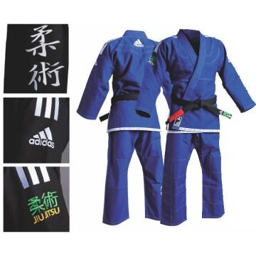 Kimono Jiu Jitsu Adidas Brésilien JJ450 bleu, blanc ou noir