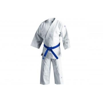 Kimono judo adidas J500 WS sans bandes
