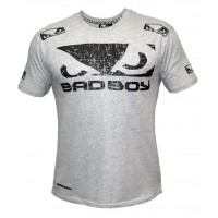 T-shirt Bad Boy Walk in Blanc