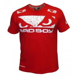 T-shirt Bad Boy Walk in Rouge