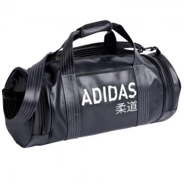 d2d19e8830 Sac Adidas convertible noir et blanc pour les sports de combat.