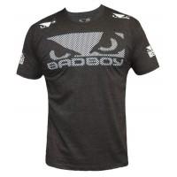 T-shirt Bad Boy Walk in Sport de combat Noir -Gris