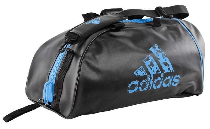 aliexpress latest design wholesale outlet Sac de Judo Adidas convertible noir et bleu: résistant et élégant