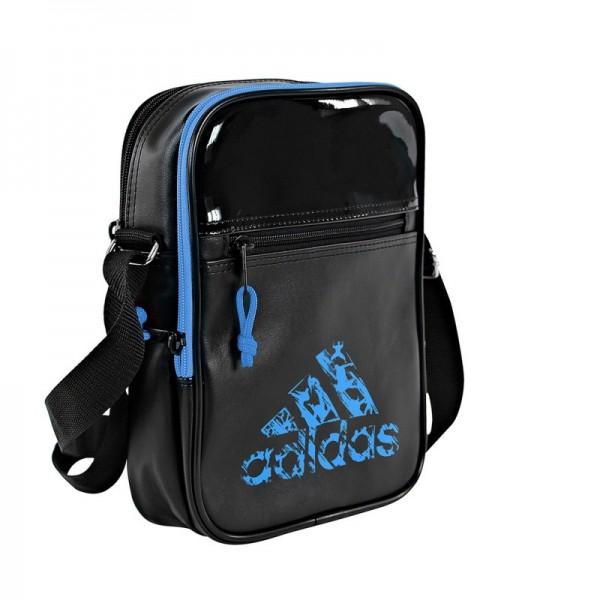 f7420543cd Sac Adidas Bandoulière noir et bleu pour les Sports de combat