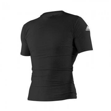 Rashguard Judo Adidas noir