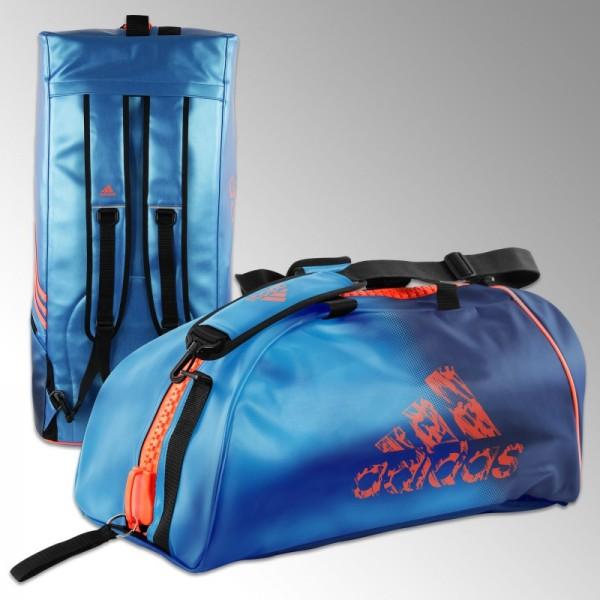 sac judo adidas convertible bleu et orange solar r sistant et tendance. Black Bedroom Furniture Sets. Home Design Ideas