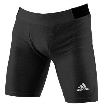 Short Lycra Judo Adidas Noir