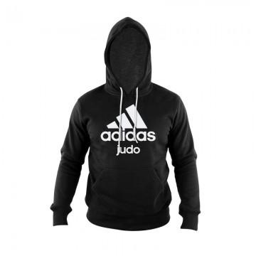 Sweat Judo Adidas noir avec inscriptions