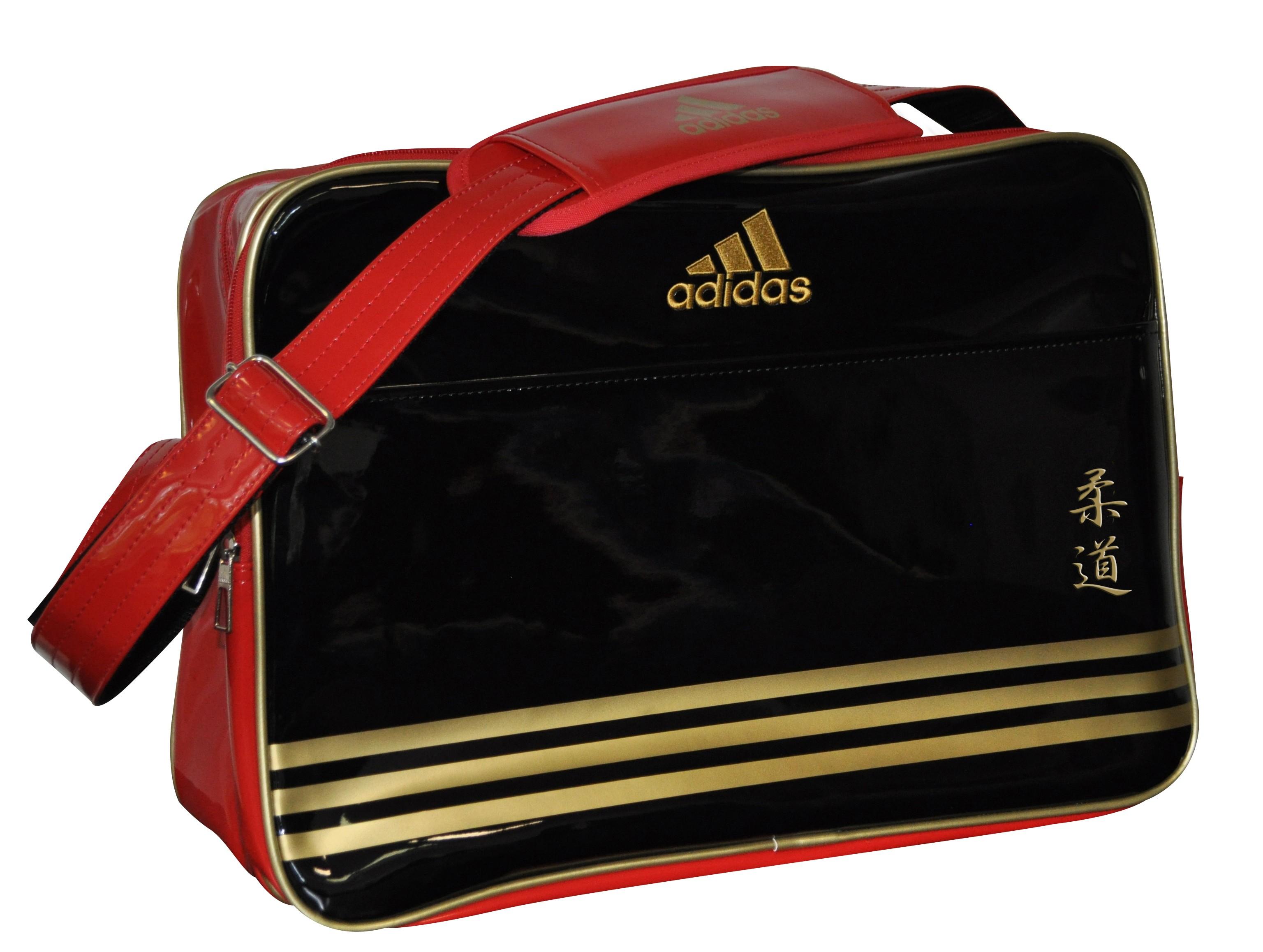 b8ed1ee1ca Sac Adidas Bandoulière noir/or pour les sports de combat.