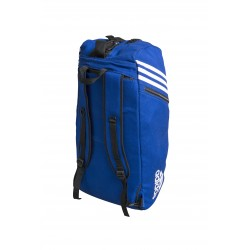 Sac de Judo convertible Adidas Bleu pour les sports de combat.