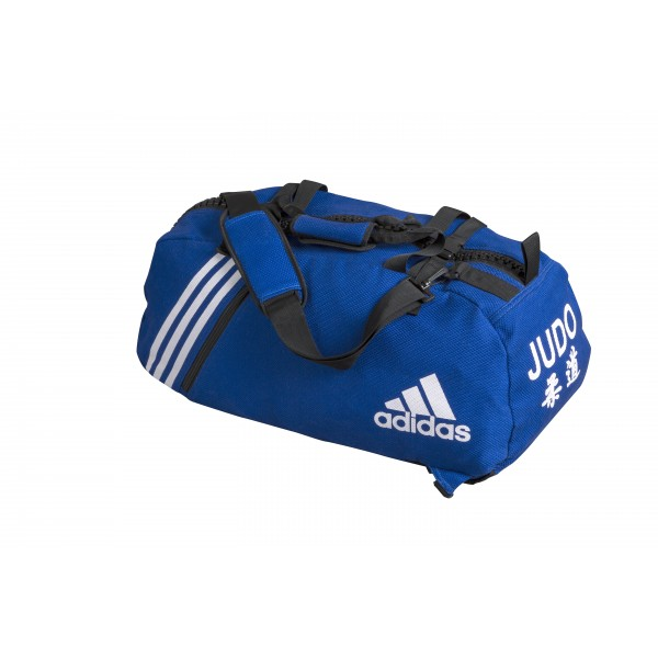 official photos 2cbdd a7f71 ... sac de judo convertible adidas bleu