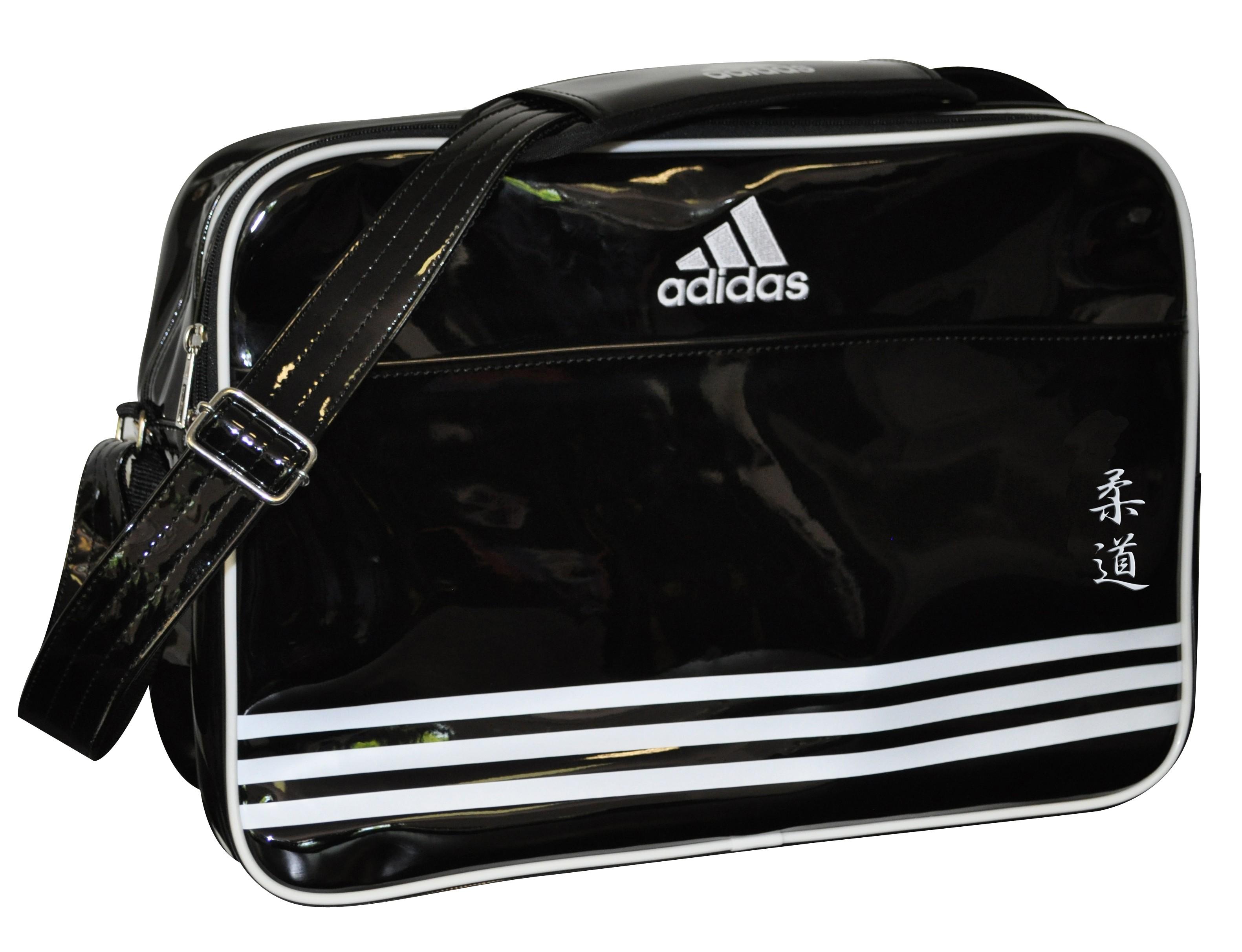 405273b890 Sac Adidas Bandoulière noir/blanc pour les sports de combat.