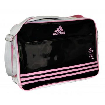 sac bandouliere adidas noir et rose